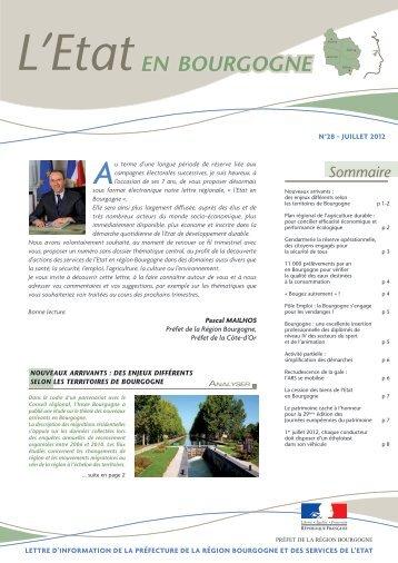 EN BOURGOGNE - préfecture de Côte-d'Or