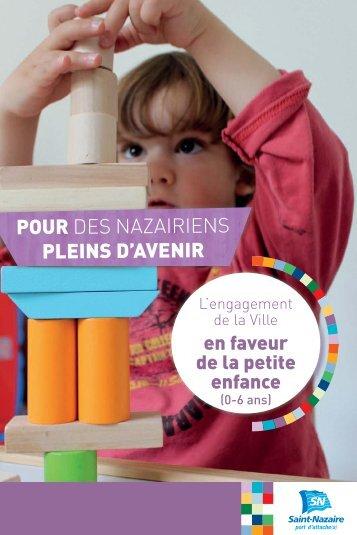 schéma directeur du service Petite Enfance - Saint-Nazaire