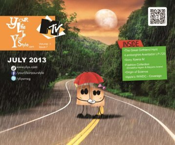 #7 Your Life In Your Style July Edition YLIYS Online Youth Magazine