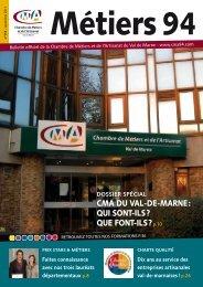 QUI SONT-ILS - Chambre de Métiers et de l'Artisanat du Val de Marne