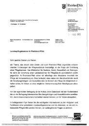 Flyer und Anschreiben zur Pflegekammer vom Ministerium ... - BFLK