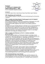 Protokoll 18. Oktober 2011 - BFLK