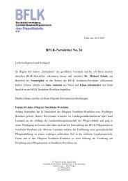 BFLK-Newsletter No 26