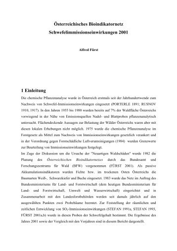 Download Bericht 2002 (pdf-File) - BFW