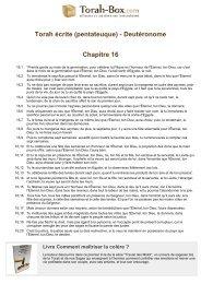 Télécharger le PDF - Torah-Box.com