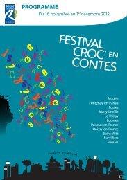FESTIVAL CROC' EN CONTES - Survilliers