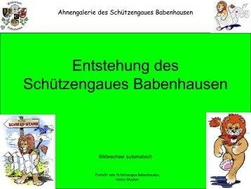Gau Ahnengalerie - BSSB