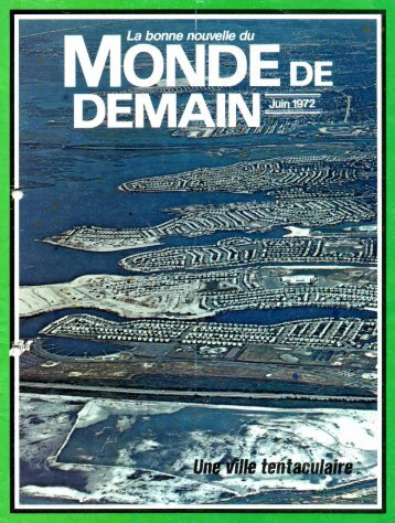 Monde de demain 1972 - Herbert W. Armstrong Library and Archives