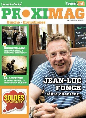 JEAN-LUC FONCK SOLDES - Proximag - Lavenir.net
