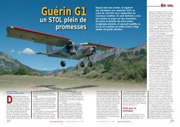 un STOL plein de promesses - G1 Aviation