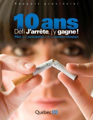 Rapport provincial - publications.sant... - Agence de la santé et des ...