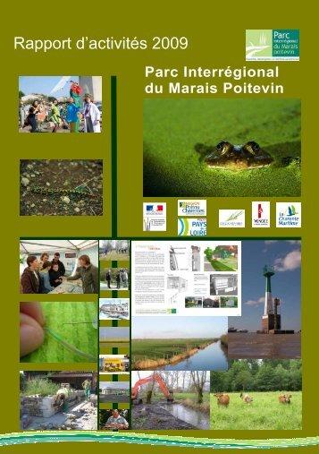 Rapport d'activités 2009 - Parc interrégional du Marais poitevin