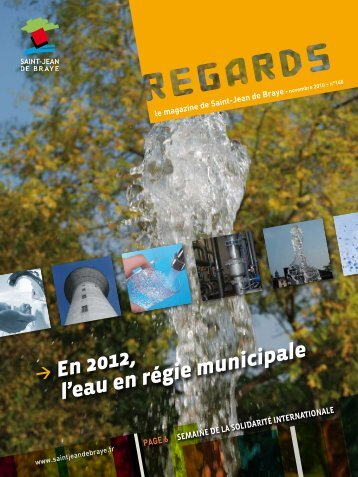 """Regards"" 148 novembre 2010 (pdf - 2,43 Mo) - Ville de Saint Jean ..."