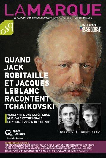 LAMARQUE - Orchestre symphonique de Québec