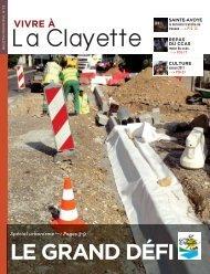VIVRE À - Commune de LA CLAYETTE