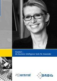 iControl – die Business Intelligence Suite für Anwender