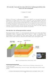 1D Laterally Constraint Inversion (1D LCI) of radiomagnetotelluric ...