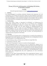 Messung, 2-D Inversion und Interpretation von kleinskaligen SIP ...