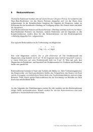6. Redoxreaktionen.pdf - Justus-Liebig-Universität Gießen