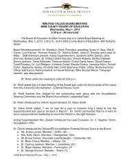 May 1, 2013 - Bibb County Schools