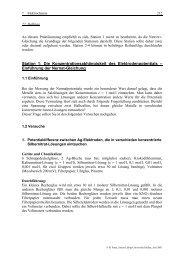 Station 1: Die Konzentrationsabhängigkeit des Elektrodenpotentials ...