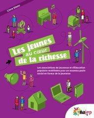 Livre Blanc Les jeunes au cœur de la richesse - CRAJEP Pays de la ...