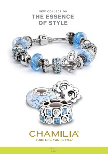 New Collection THE ESSENCE OF STYLE - Chamilia