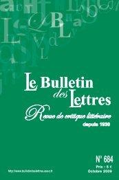 BDL_COUV_OCTOBRE:#Couverture (4.0) - Le Bulletin des Lettres
