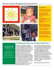 Macon Promise Neighborhood Newsletter - Bibb County Schools