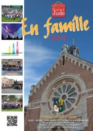 En famille 2012 - Institution Saint Jude