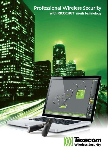 Professional Wireless Security - Texecom