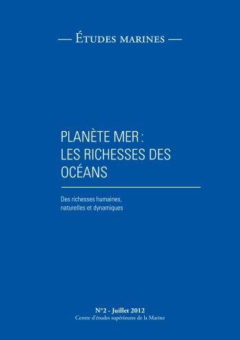 les richesses des océans - CESM - Ministère de la Défense