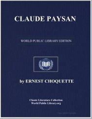 CLAUDE PAYSAN - World eBook Library