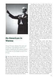 An American in Vienna - Temple University