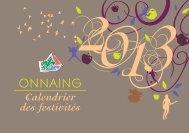 Télécharger Calendrier des Fêtes 2013 - Onnaing.fr