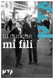 Journal n° 3 du NTA - Nouveau théâtre d'Angers