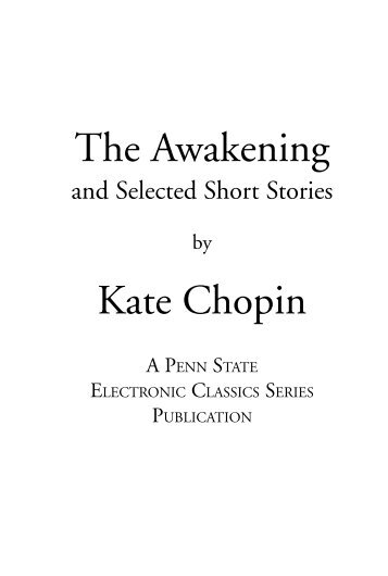 a review of kate chopins short story the storm