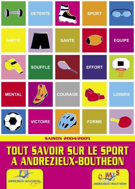Tout Savoir Sur Le Sport A Andrezieux Boutheon