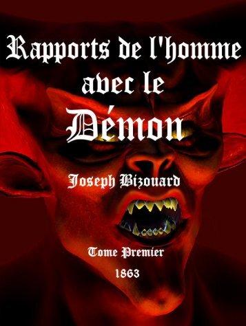 Des rapports de l'homme avec le démon (tome 1) - Le Vigilant