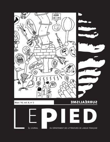 Mars 2010 - Le Pied