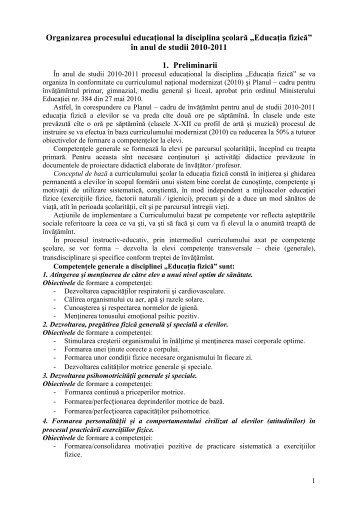 Scrisoare metodica ed-fizica