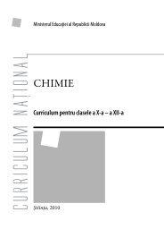Chimie_Romana - Ministerul Educatiei al Republicii Moldova