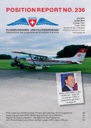 Position RePoRt no. 236 - AOPA Switzerland