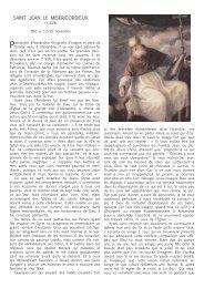 vie de saint Jean le Miséricordieux