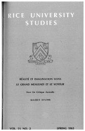 II - Rice University's digital scholarship archive