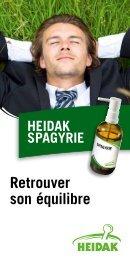 Retrouver son équilibre - Heidak AG