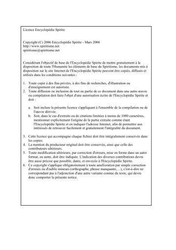 DES PHENOMENES PREMONITOIRES - L'Encyclopédie Spirite