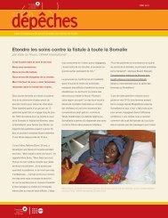 Etendre les soins contre la fistule à - Campaign to End Fistula