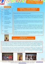 lire ce numero - COMITE REGIONAL DU SPORT UNIVERSITAIRE ...