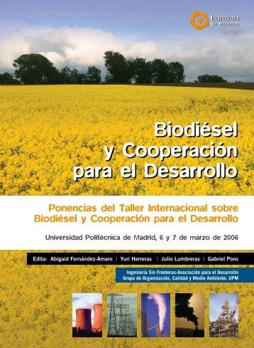 Biodiésel y Cooperación para el Desarrollo - eFaber